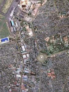 Maputo - Route de l'aéroport