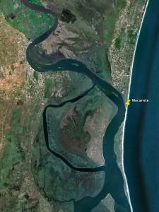Macaneta - Embouchure du fleuve Nkomati