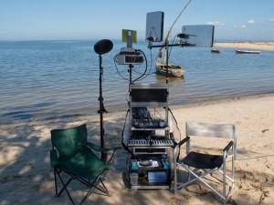 Roulante Son, Cantar, iTak, Rik'Art, plage de Maputo