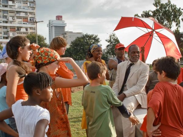 La République des enfants - Melanie, Danny et Kyko au parapluie