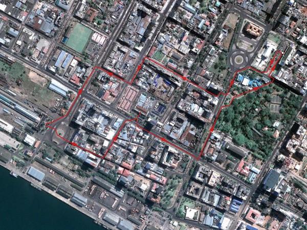 Maputo - Tour dans le vieux quartier