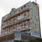 Maputo - Immeuble mosaïque