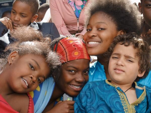 La République des enfants - Esther, Melanie, Joyce et Karan