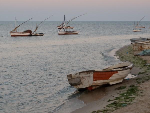 La République des enfants - Barques de pêcheurs